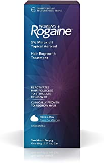 Women's Rogaine Hair Regrowth Treatment 2 Month Supply