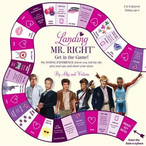 Landing Mr. Right Board Game by Landing Mr. Right EntertainHommest