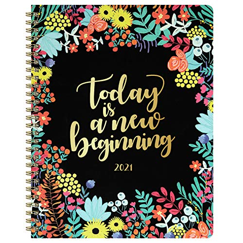 """2020 Planner - Planner 2020, Weekly & Monthly Planner, 8"""" x 10"""", Jan. 2020 - Dec. 2020, 12 Monthly Tabs Stickers, Twin Wire Binding Perfect for Planning and Organizing Your Home or Office"""