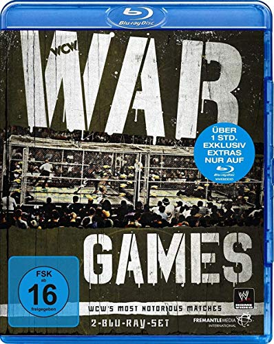War Games - WCWs Most Notorious Matches [Blu-ray]