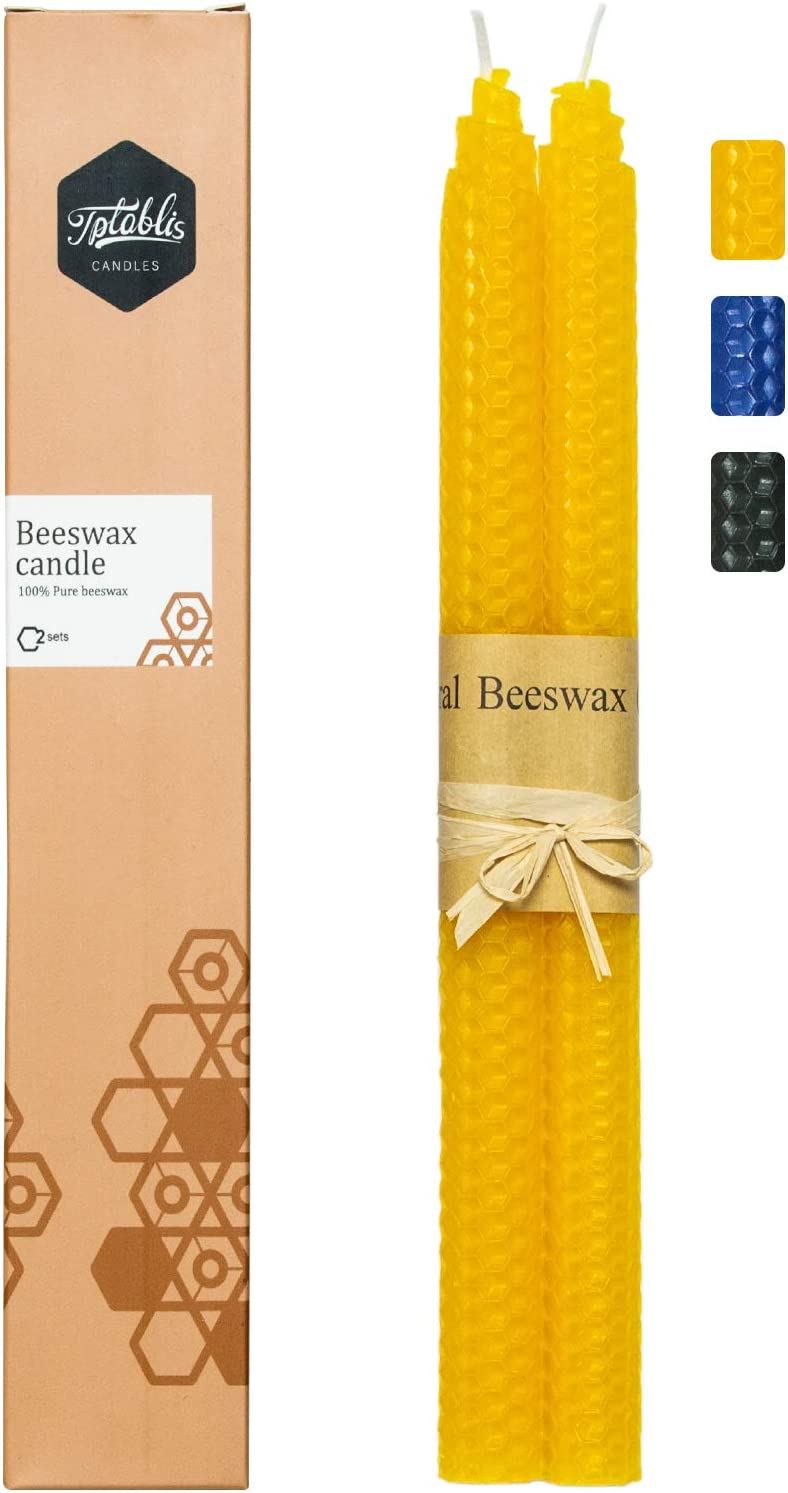 Beeswax Taper Candles Ranking TOP8 are dripless inches 10 Ranking TOP19 Suita