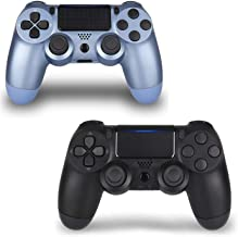 2 Pack Wireless Controllers for PS4, Wireless Remotes Control for Sony Playstation 4, YU33 PS4 Joystick Gamepad for Ps4 Co...