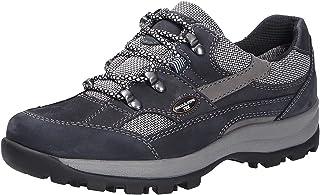 Waldläufer TEX dameswandelschoenen breedte H blauw/grijs