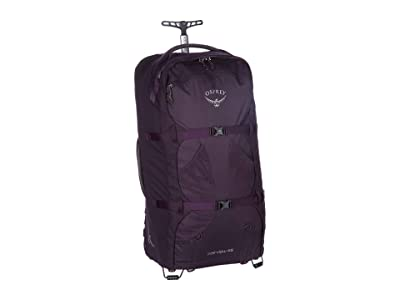 Osprey 65 L Fairview Wheels (Amulet Purple) Backpack Bags