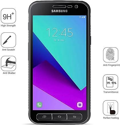 COPHONE® Pack de 2 Verre trempé Compatible Samsung Galaxy Xcover 4, Film de Protection écran Premium Anti Chocs et Casse, Anti Empreintes, Bords arrondis,dureté Max 9H
