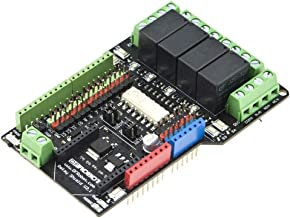 2 channel relay shield module for arduino