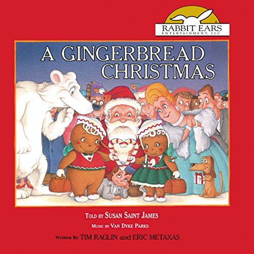 A Gingerbread Christmas audiobook cover art