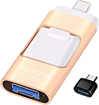 Sunany USB Flash Drive 256GB, Photo Stick Memory External Data Storage Thumb Drive Compatible with iPhone, iPad, Android, ...