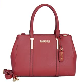 Best red leather satchel Reviews