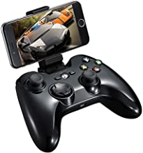 MFi Certified Wireless Game Controller, PXN 6603 Bluetooth Gamepad, Gaming Controller Joypad Joystick with Adjustable Clamp Holder Compatible with iOS iPhone Xs/Xs Max/XR/X / 8 Plus, iPad