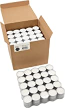 Stonebriar Long Tealight Candles, 6 to 7 Hour Extended Burn Time 200 Pack SM-TL200