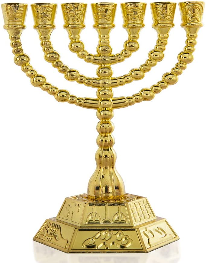 7-Branch Menorah Denver Popularity Mall Candle Holder for Shabbat Tabernacle Home Deco