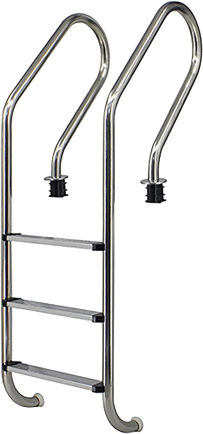 Stainless Steel Swimming Translated Max 40% OFF Pool Handrail Ladder Step 9 for 3