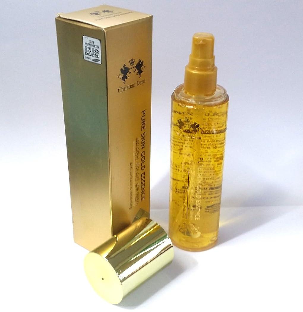 昨日自体魂[Christian Dean] ピュアスキンゴールドエッセンス150ml/Pure Skin Gold Essence 150ml/Whitening/ホワイトニング/ピュアゴールドエキス(99.9%)/韓国化粧品/pure gold extract (99.9%)/Korean cosmetics [並行輸入品]