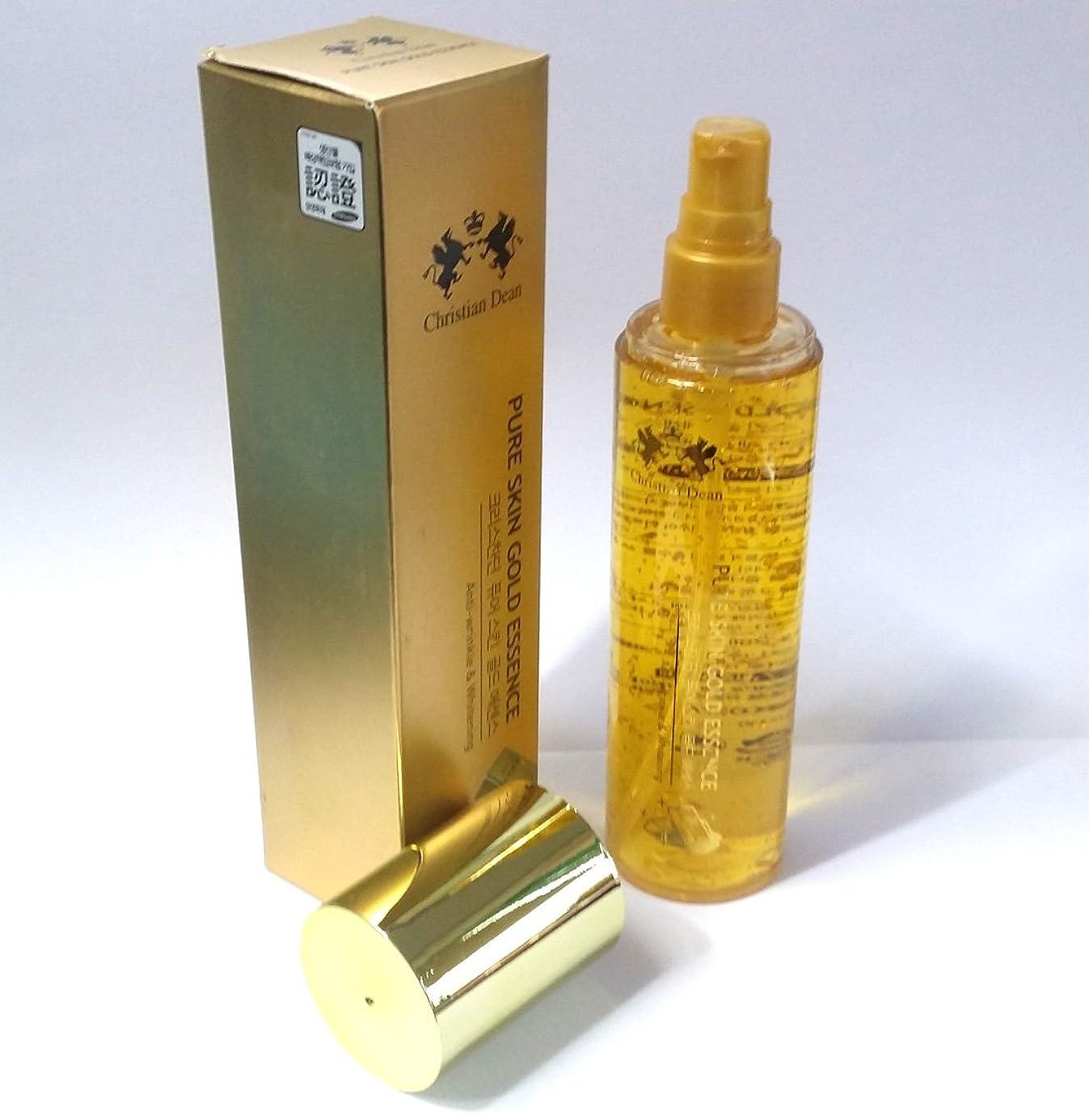 自発的詳細に逃す[Christian Dean] ピュアスキンゴールドエッセンス150ml/Pure Skin Gold Essence 150ml/Whitening/ホワイトニング/ピュアゴールドエキス(99.9%)/韓国化粧品/pure gold extract (99.9%)/Korean cosmetics [並行輸入品]