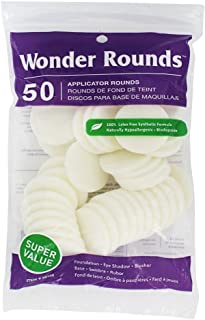 Wonder Rounds 50 Applicator Rounds - White