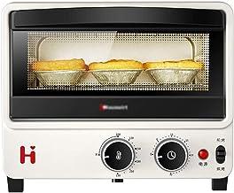 LHT Horno eléctrico Mini portátil Compacto Freír la Parrilla de Panadero Mash sartén Mold El Tiempo 10L Microondas (Color : White)