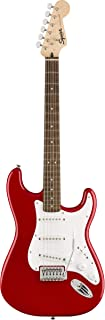 Fender Squier Bullet Stratocaster SSS Electric Guitar - Limited-Edition Dakota Red
