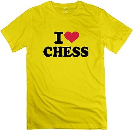 Maglietta i Love Chess maglietta maniche corte Deepheather humor by Rahk