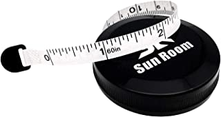 Body Tape Measure, SunRoom 60-inch 1.5 Meters Soft Measuring Tape, Accurate, Convenient Way to Track Weight-Loss, Muscle Gain