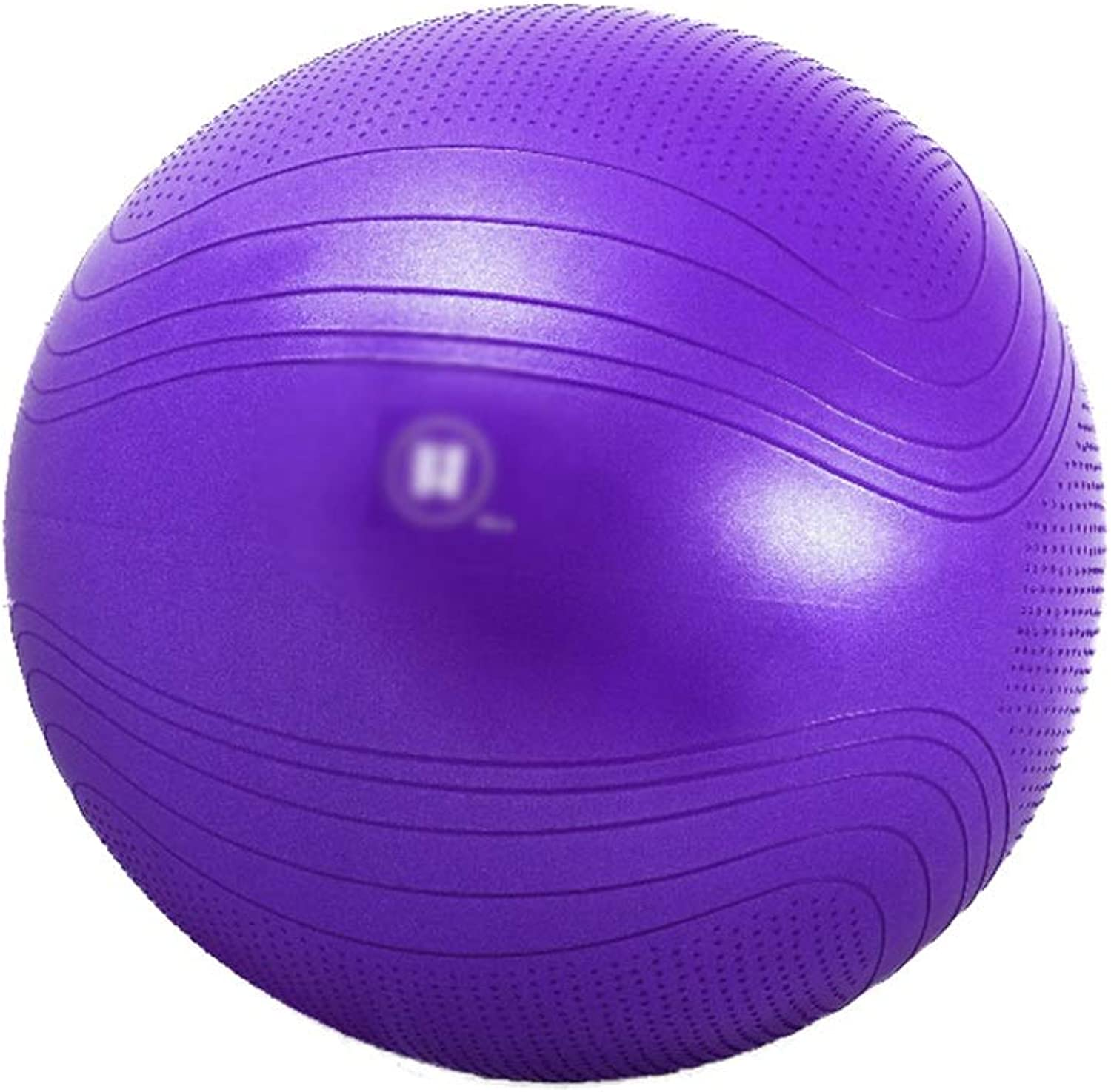 CJXin Beginner Yoga Ball, NonSlip Colourful Gym Ball Lose Weight Slimming Balance Ball Pregnant Woman Midwifery Ball 5575CM Indoor Fitness Equipment