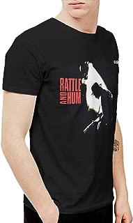 Avis N Men's U2 Rattle and Hum T Shirt Black