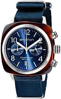 Briston - Clubmaster Classic Acétate - Chronographe Midnight Blue