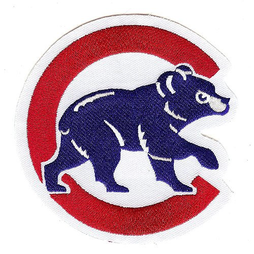 The Emblem Source Chicago Cubs Home Jersey Sleeve Patch