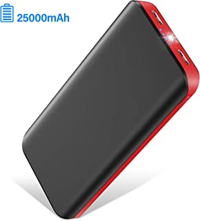 Portable Charger,Power Bank LBell Battery Pack 25000mAh Huge Capacity External Battery 2 USB Ports with LED Flashlight Portable Phone Charger for iPhone 11 XS X 8 Plus Samsung S10 Android Phone iPad photo
