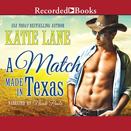 A Match Made in Texas audiobook cover art