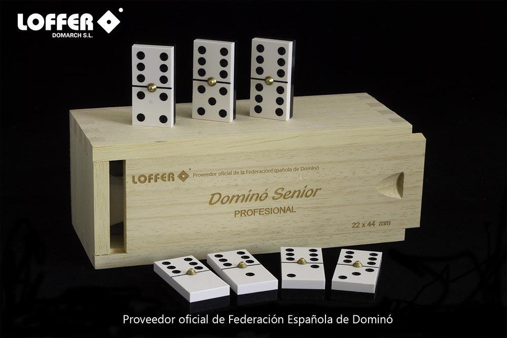 Loffer - Dominó Profesional Senior, Caja de Madera (Domarch A352M ...
