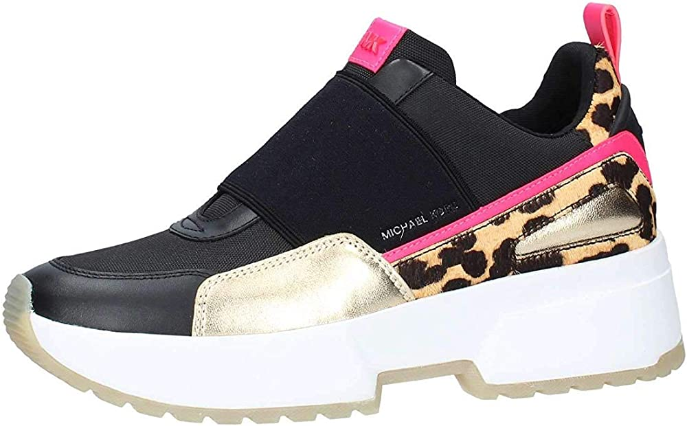 Michael kors, sneakers,scarpe sportive per donna,in pelle e tela 3D1MKors43T9CSFP5DC