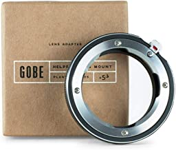 Gobe Lens Mount Adapter: Compatible with Leica M Lens and Sony E Camera Body