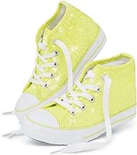 Balera High Top Dance Sneaker with Neon Sequins