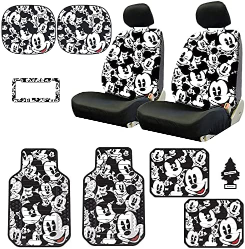 Yupbizauto Disney Mickey Max 71% OFF Mouse Design Seat Low Reservation Sideless Back Car