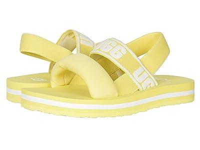 UGG Kids Zuma Sling (Little Kid/Big Kid) (Lemonade) Girl