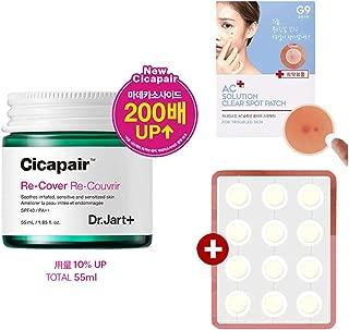 [リニューアル] Dr.Jart Cicapair Re-Cover 55ml(2代目)+ G9SKIN ACソリューションクリアパッチ 12枚 [並行輸入品]
