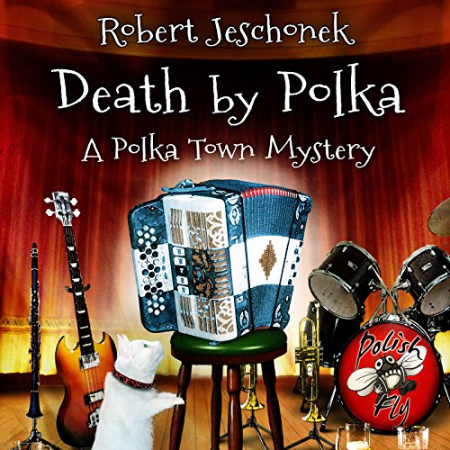 Death by Polka audiobook cover art