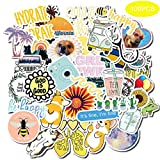 Pegatinas,Kit de Pegatinas, Pegatinas Decorativas Stickers para Coche, Infantiles, Portátiles, Moto, Funda de Viaje (100PCS) (light green)