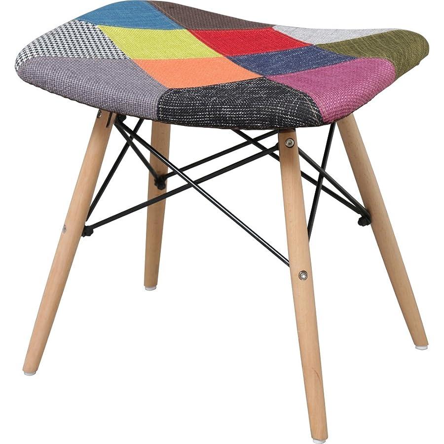 分類だます奨励椅子 イームズチェア スツール デザイナーズ リプロダクト パッチワーク PP-638-Patchwork