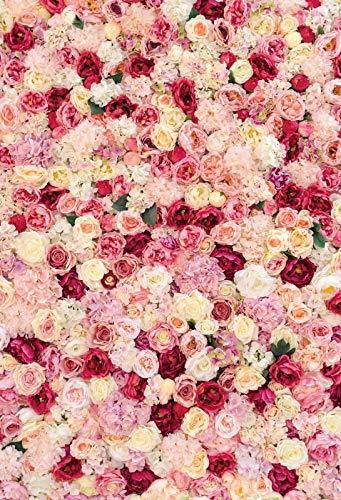 Pink Spring Blossom Flowers Petal Branch Love Party Recién Nacido Bebé Retrato Fondos fotográficos Fondos fotográficos Estudio fotográfico A15 10x10ft / 3x3m