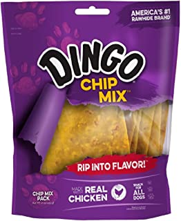 dingo chip mix chicken in the middle