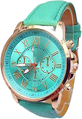 Noopvan Womens Quartz Watches Lady Watches Female Watches on Sale Leather Watch