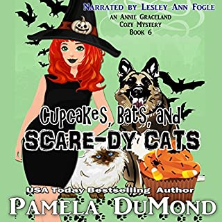 Cupcakes, Bats, and Scare-dy Cats audiobook cover art