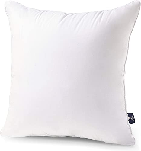 popular Phantoscope Cotton Fabric Pillow Inserts - 18 x wholesale 18 Throw Pillow Insert Square Pillow Form Pillow lowest Stuffer - Decorative Couch Cushion Pillow, 1Pack online sale