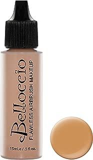 Belloccio's Professional Cosmetic Airbrush Makeup Foundation 1/2oz Bottle: Cappuccino- Medium with Olive Undertones