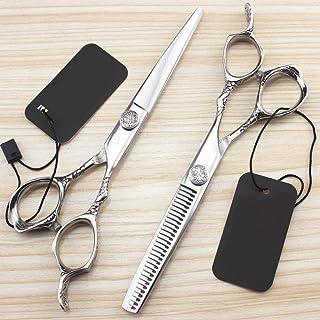 Hair Scissors Professional Hair Scissors Set Sharp Barber Hair Trimmer Set for Children Women and Men 6.0 inches,6InchSet