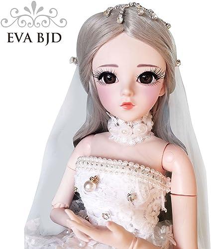 EVA BJD z t 1 3 BJD SD Puppe mädchen 24  6cm 19 Puppen Valentinstag Geschenk Spielzeug
