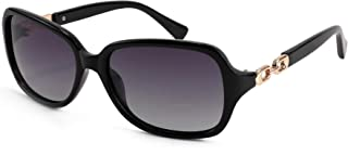 نظارات شمسية بتصميم عتيق انيق وعدسات مستقطبة 100% وحماية من الاشعة فوق البنفسجية 400 للنساء من فيسيدي B2526
