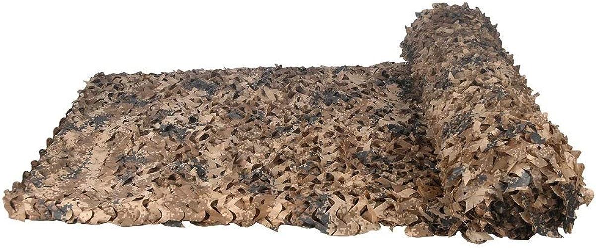 Filet de camouflage désert Filet de camouflage Oxford Tissu Chasse Tir Tente cachée Woodland Camouflage Filet Camping Peau (Couleur   5M×10M)